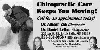 Call for Appointment Today!