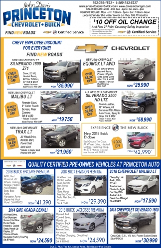 Quality Certified Pre-Owned Vehicles at Princeton Auto
