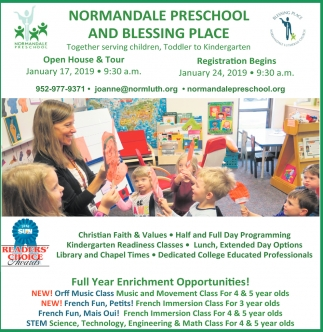Normandale Preschool and Blessing Place