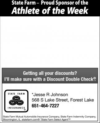 Athlete of the Week