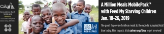 A Million Meals MobilePack with Feed My Starving Children