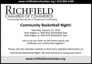 Community Basketball Night!