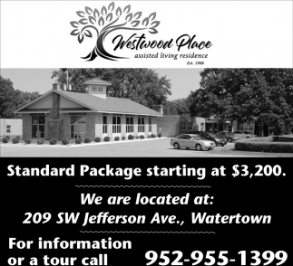 Standard Package Starting at $3,200