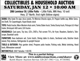 Collectibles & Household Auction