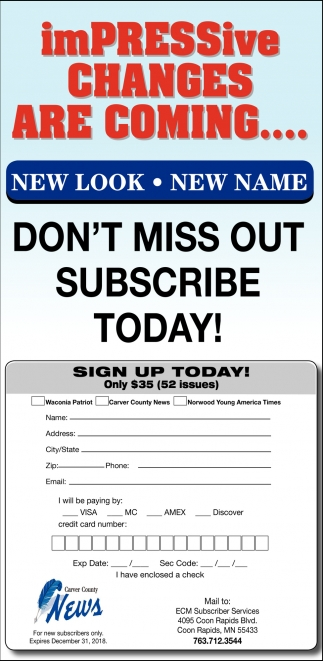 Don't Miss Out, Subscribe Today!