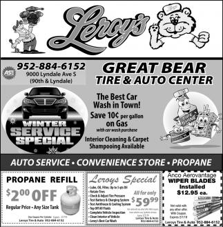 Great Bear Tire & Auto Center