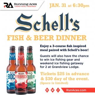 Schell's Fish & Beer Dinner