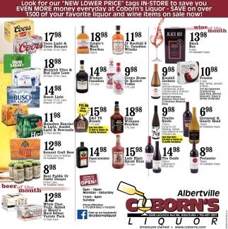Coborn's Liquor