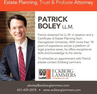Estate Planning, Trust & Probate Attorney