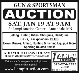 Gun & Sportsman Auction