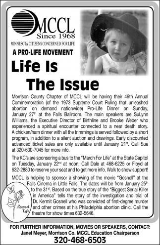 A Pro-life Movement