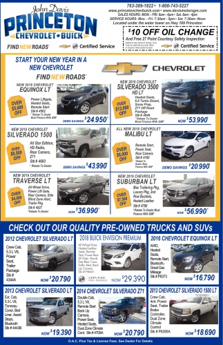 Check out Our Quality Pre-owned Trucks and SUVs