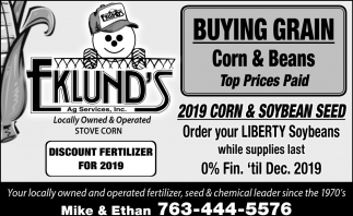 2019 Corn & Soybean Seed