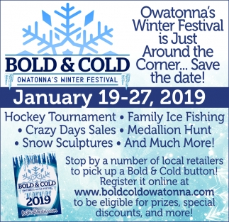 Owatonna's Winter Festival is Just Around the Comer... Save the Date!