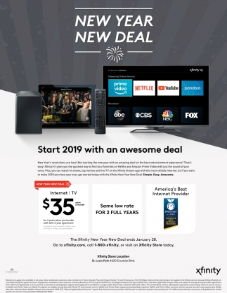 Start 2019 with An Awesome Deal