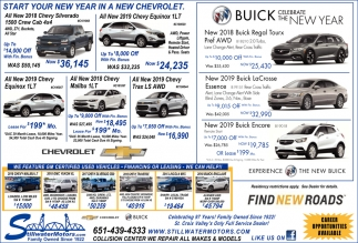 Start Your New Year in a New Chevrolet