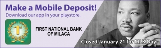 Make a Mobile Deposit!