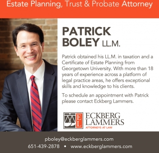 Estate Planning, Trust & Probate Attorney