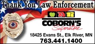 Thank You Law Enforcement