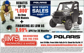 New Year's Sales Event