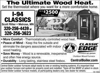 The Ultimate Wood Heat