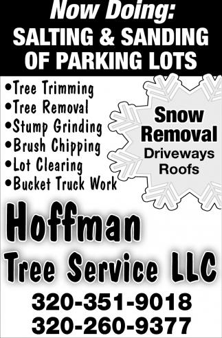 Salting & Sanding of Parking Lots