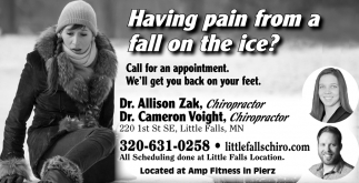 Having Pain from a Fall on the Ice?
