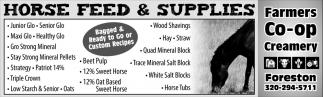 Horse Feed & Supplies