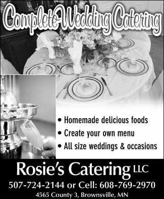 Complete Wedding Catering