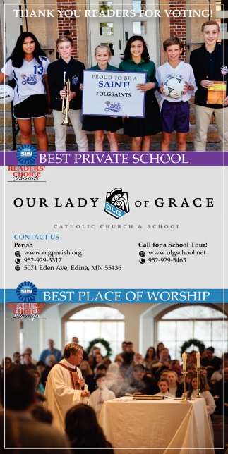 Best Private School, Our Lady of Grace Catholic Church