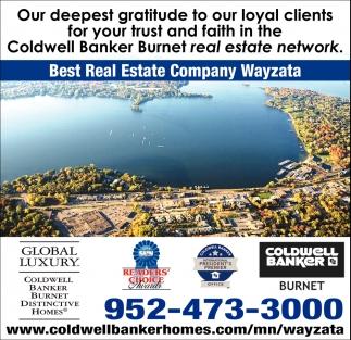 Best Real Estate Company Wayzata
