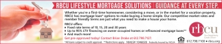 RBCU Lifestyle Mortgage Solutions