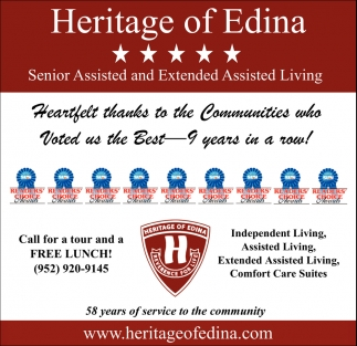 Senior Assisted and Extended Assisted Living