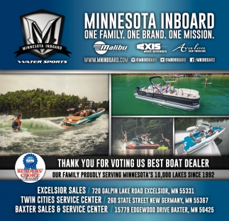 Thank You for Voting Us Best Boat Dealer