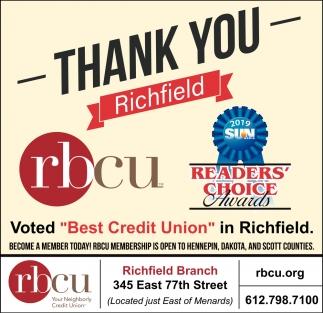 Thank You Richfield
