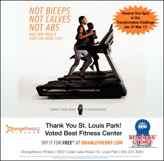 Voted Best Fitness Center