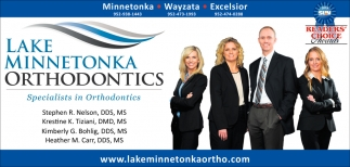 Specialists in Orthodontics