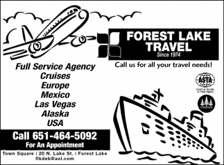 Call Us for All Your Travel Needs!