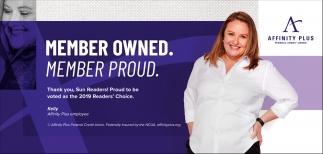 Member Owned. Member Proud