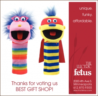 Thanks for Voting Us Best Gift Shop!