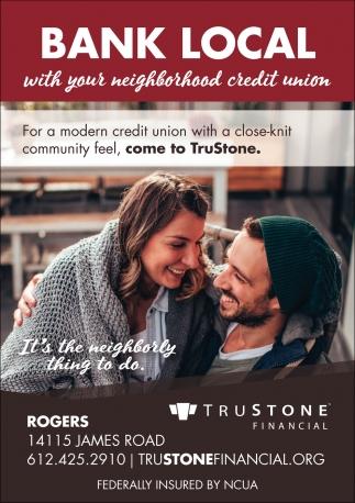 Bak Local with Your Neighborhood Credit Union