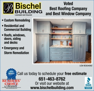 Voted Best Roofing Company and Best Window Company