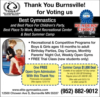 Thank You Burnsville!