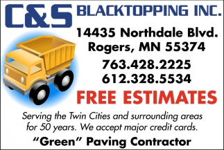 Serving the Twin Cities and Surrounding Areas for 50 Years