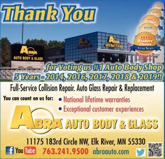 Abra Body Shop >> Full Service Collision Repair Abra Auto Body Glass