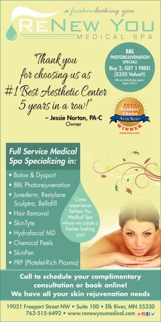Full Service Medical Spa