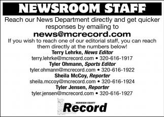 Newsroom Staff