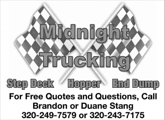 For Free Quotes and Questions, Call Brandon or Duane Stang