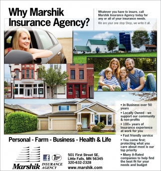 Why Marshik Insurance Agency?
