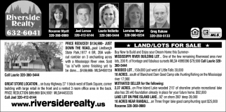 Land/Lots for Sale